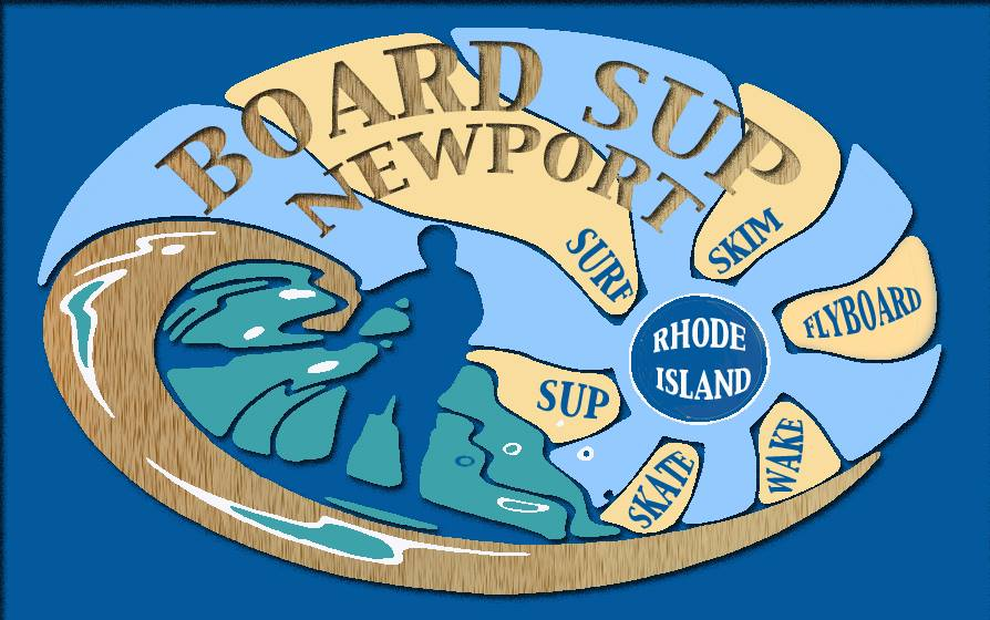 BOARD SUP NEWPORT LOGO