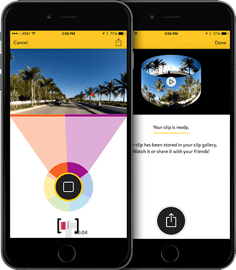 V.360 IPHONE APP