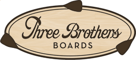 THREE BROTHERS BOARDS LOGO
